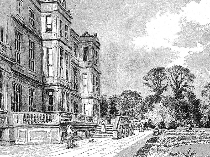 Longleat, engraving from Historic Houses of the United Kingdom 1892.