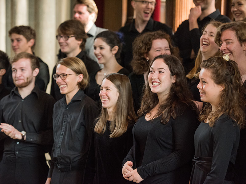 Merton College Choir ©John Cairns