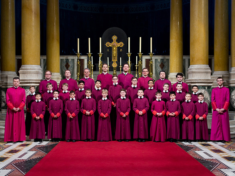 Westminster Cathedral Choir ©Simon Tottman