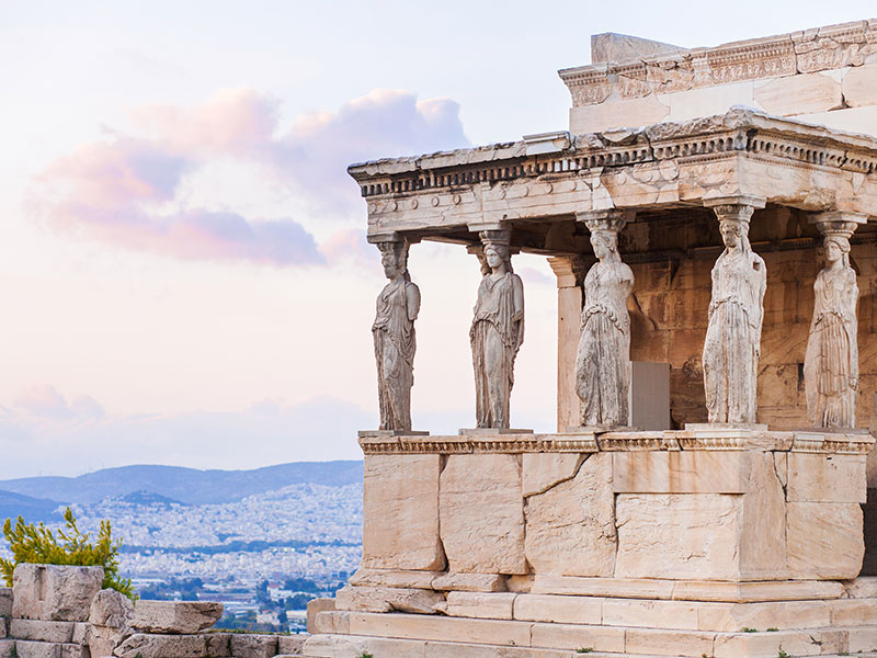 Athens, Erechtheion in the Acropolis, photograph ©Kite_rin/ shutterstock.