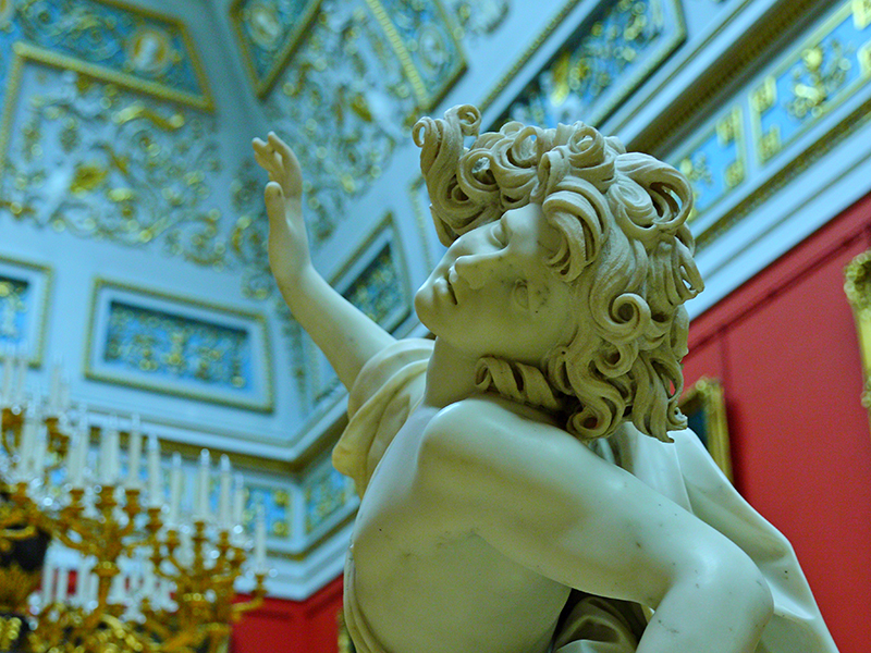 Mazzuola's Death of Adonis, in the Hermitage, photograph © Leochen66/ Shutterstock.