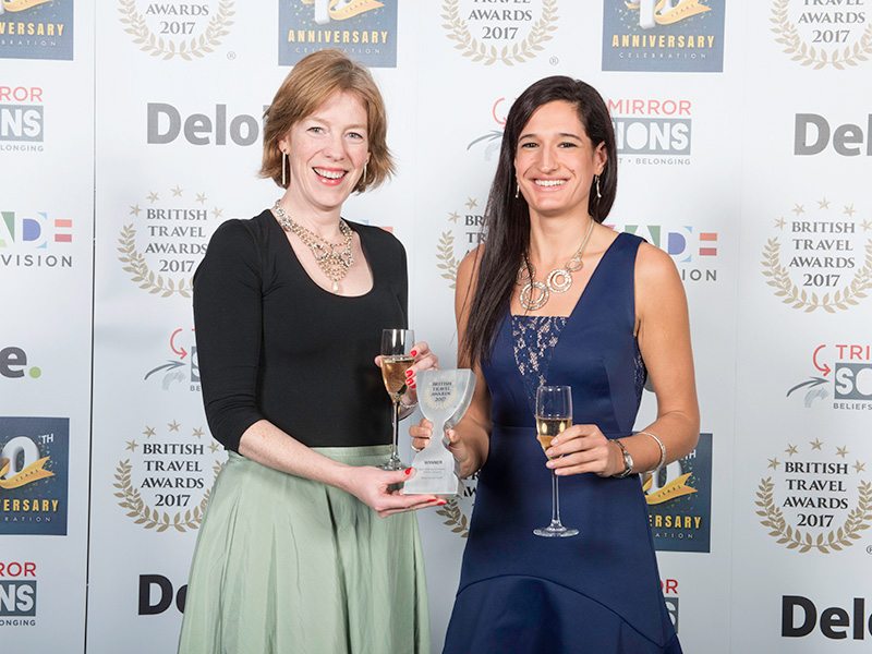 Martin Randall Travel wins 2 British Travel Awards