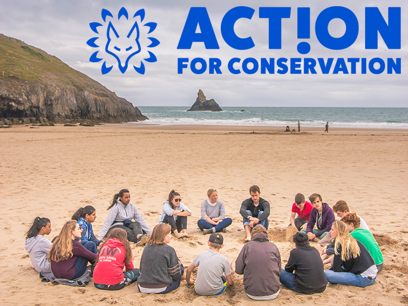 MRT is supporting the charity 'Action for Conservation'