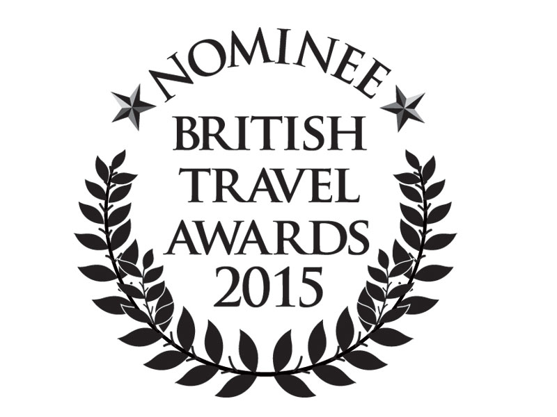 MRT nominated in this year's British Travel Awards