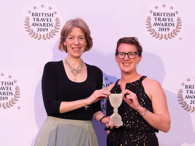 MRT wins Best Special Interest Holiday Company at 2019 British Travel Awards