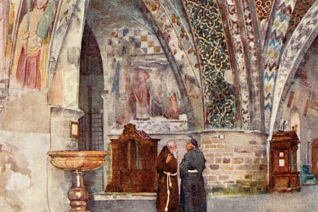 Assisi, St. Francis, by Frank Fox publ. 1915.