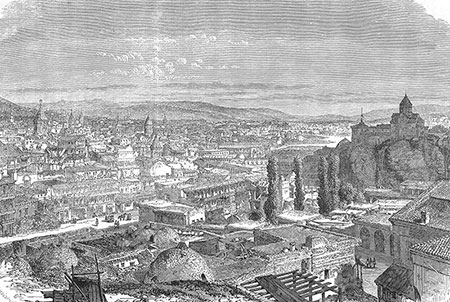 View of Tbilisi.