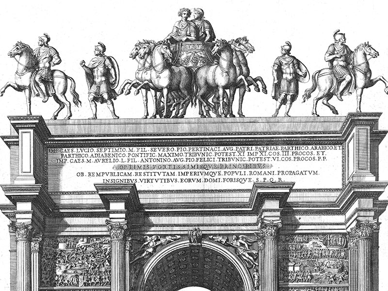 Arch of Septimus of Rome