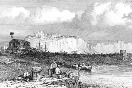 Dover, steel engraving c. 1850.