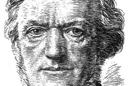Richard Wagner, woodcut c. 1930.
