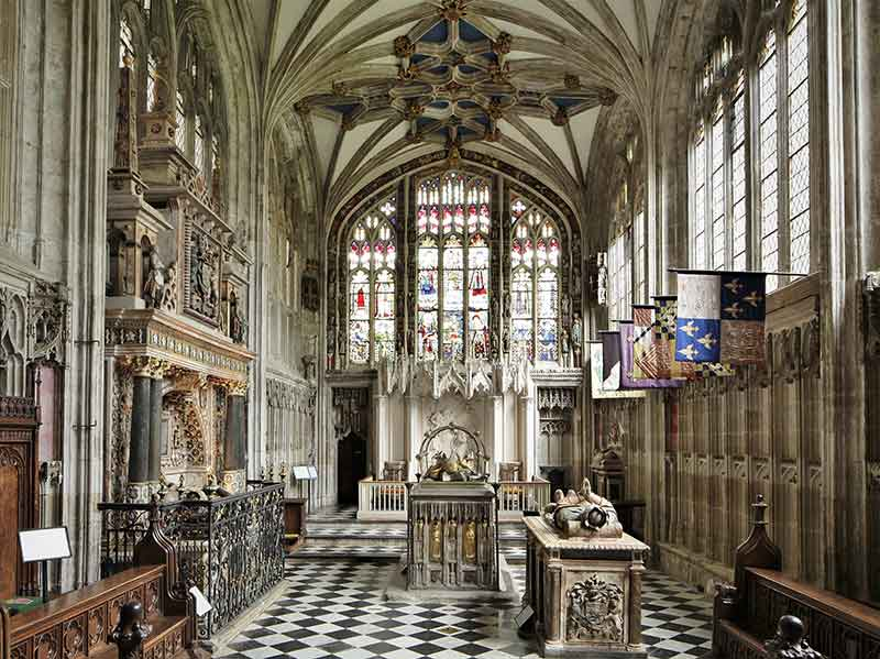 Five great medieval buildings in context –five online talks by John McNeill