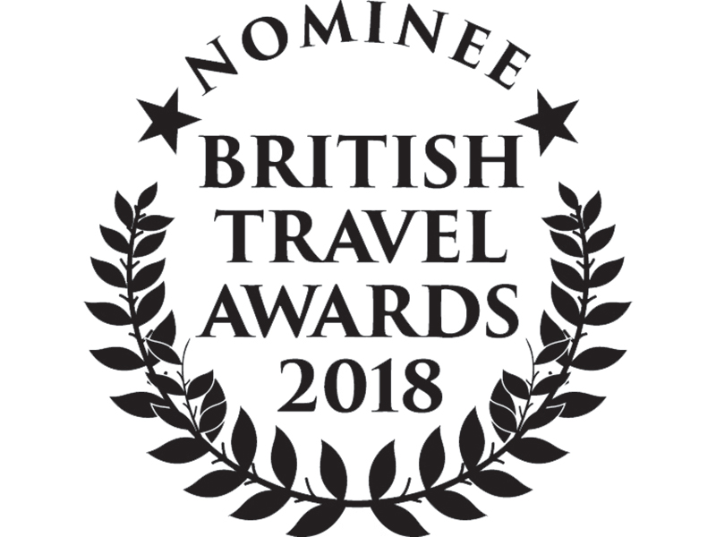 MRT nominated for British Travel and Telegraph Travel Awards 2018