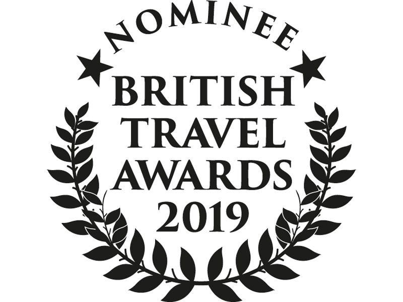 MRT nominated in British Travel Awards 2019
